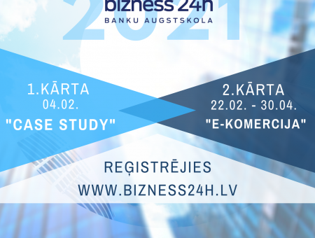 """Izsludināts uzņēmējdarbības uzsākšanas konkurss """"Bizness24h""""!"""